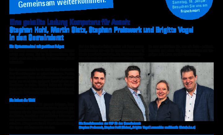 FDP Wahlzeitung